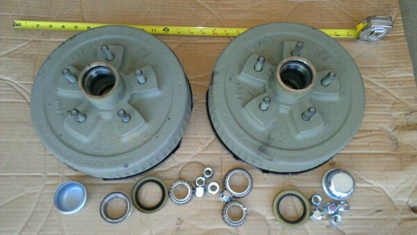 Trailer 5 on 4.75quot; Electric Brake Hub Drum COMPLETE KIT 3500 lb Axle DEXTER $240.00