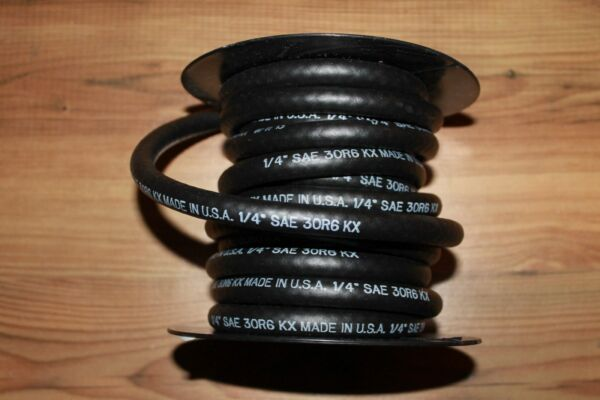 25ft. Roll of 1 4quot; ID Fuel Line Small Engine Lawn Mower Tractor Automotive