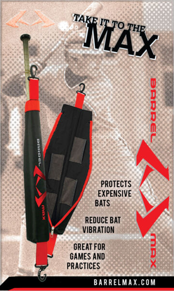 BARREL MAX Bat warmer sleeve for Demarini Easton little league baseball bats