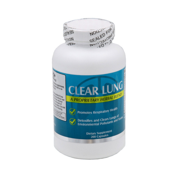 Clear Lung from NU health Lung Cleansing Formula 200 Capsules