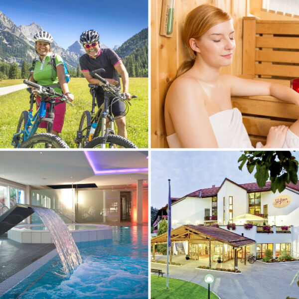 Wellness Kurzurlaub in Bayern im Wellness Hotel Sankt Georg in Bad Aiblng 3 Tage