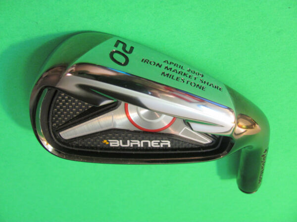 Taylor Made Burner April 2009 Commemorative Iron Market Share Milestone 20 Head