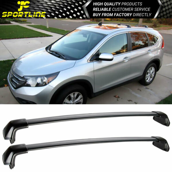 Fits 12-16 Honda CRV CR-V Top Roof Rack Cross Bars CrossBars Pair Trail Bar