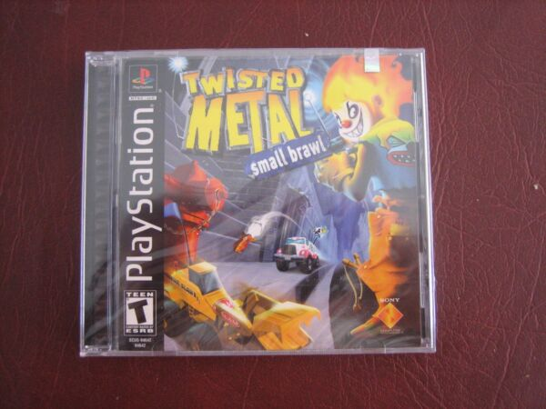 Twisted Metal Small Brawl NEW factory sealed black label PlayStation 1 PSX PS1