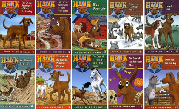 Hank The Cowdog Reader Series Paperback Collection Books 1-10!