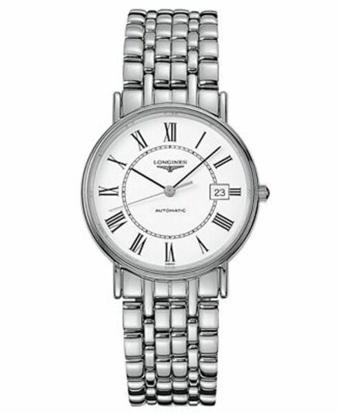 NEW Longines White Dial Auto Steel Bracelet UNISEX Watch L48214116 FREE SHIPPING