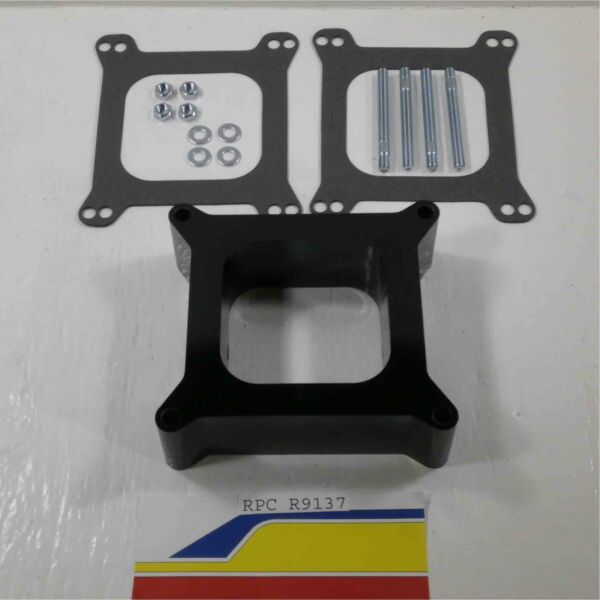 Racing Power Rpc R9137 Carburetor Spacer Phenolic 2quot; Open 4150 4160 Holley W G $22.40