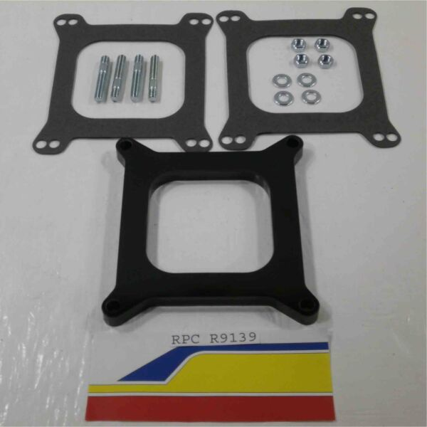 Racing Power Rpc R9139 Carburetor Spacer Phenolic 1 2quot; Open 4150 4160 Holley W $16.47