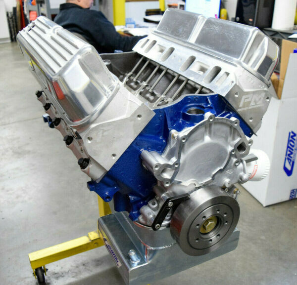 550Hp Small Block Ford Custom 427 Stroker Engine Complete Mustang Cobra 351 408