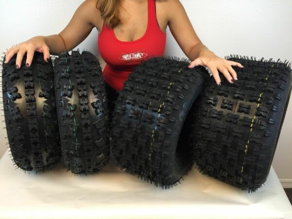All 4 Tires 21x7 10 amp; 20x10 9 New MASSFX ATV TIRE SET Yamaha Raptor 660 700