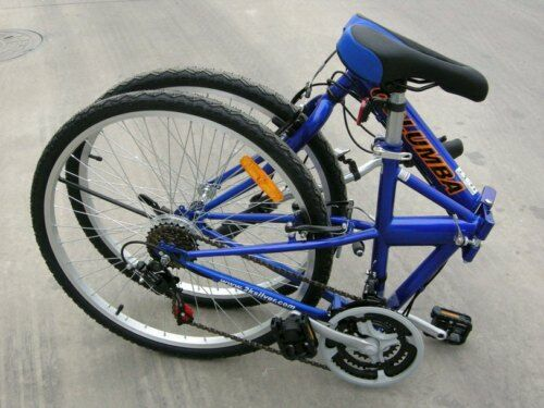 NEW COLUMBA 26quot; Folding Bike Shimano 18 speed Blue SP26S BLU $279.99