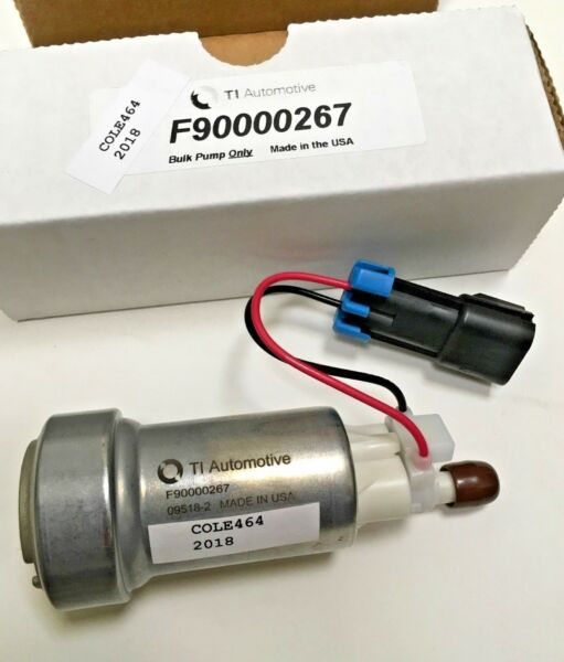 Genuine WALBRO TI AUTO F90000267 E85 RACING FUEL PUMP ONLY. 450LPH MADE IN USA $104.99