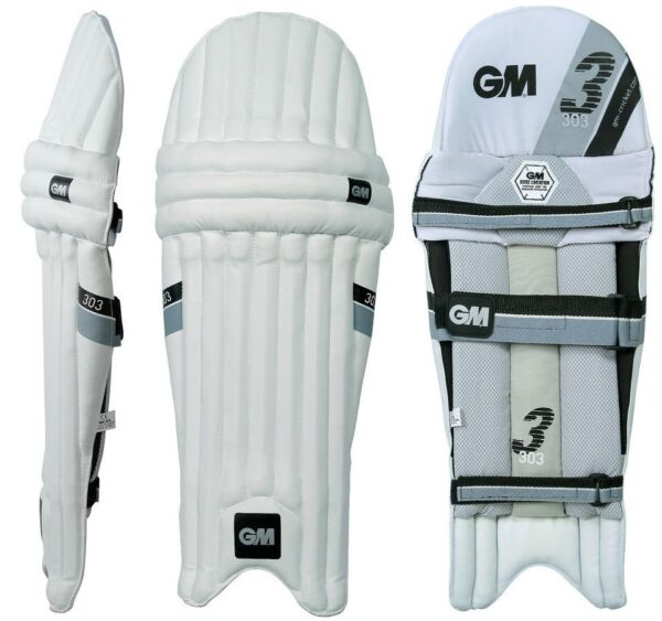 GM 303 Cricket Batting Pad (Leg Guard) RHLH +AU Stock +Free Ship