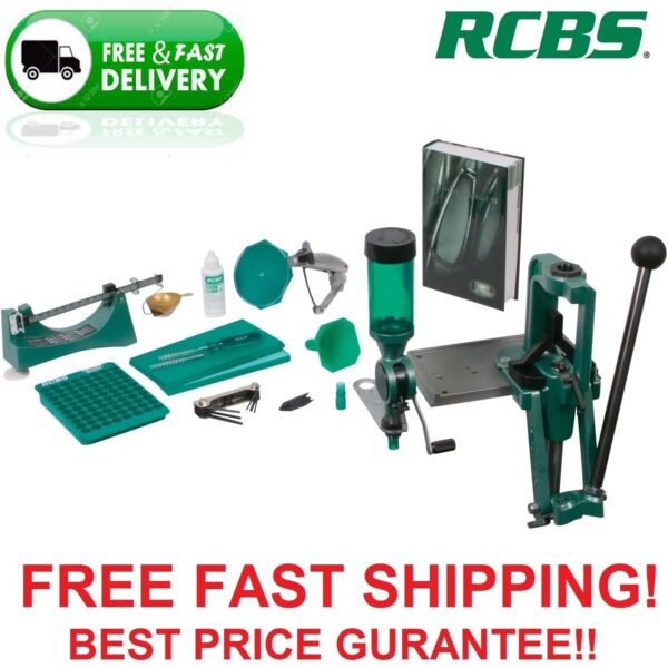 RCBS Rock Chucker Supreme Master Single Stage Press Kit 9354 New $50 rebate too!