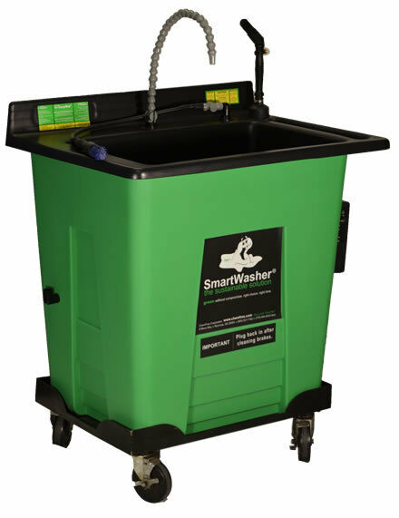 ChemFree SmartWasher SW-425C Large Mobile Aqueous Parts Washer Brakes Heavy Duty