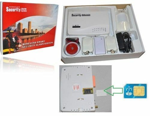 FREE* KIT ALLARME CASA ANTIFURTO WIRELESS CON COMBINATORE GSM INCORPORATO WI FI