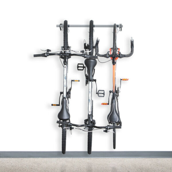 Garage Bike Storage Rack Holds 3 Bikes Monkey Bar Storage $79.99