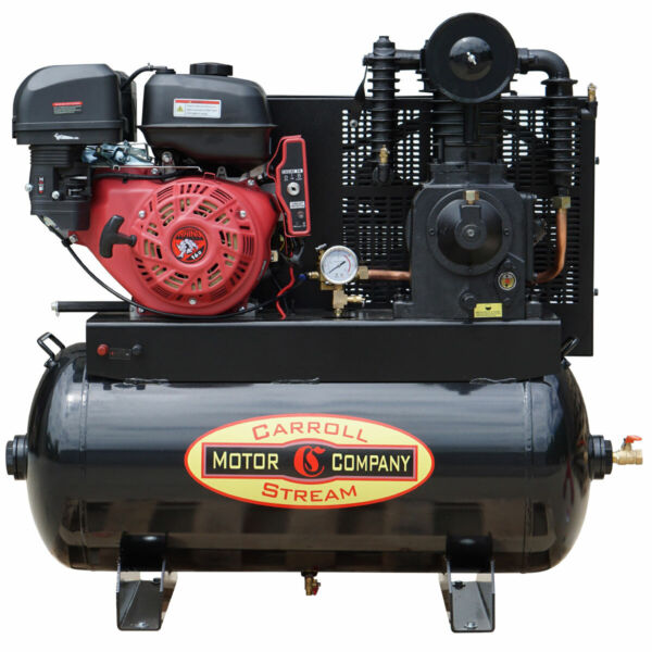 NEW Gas Air Compressor Truck Mount Industrial Commercial 16HP Electric Start $1454.00