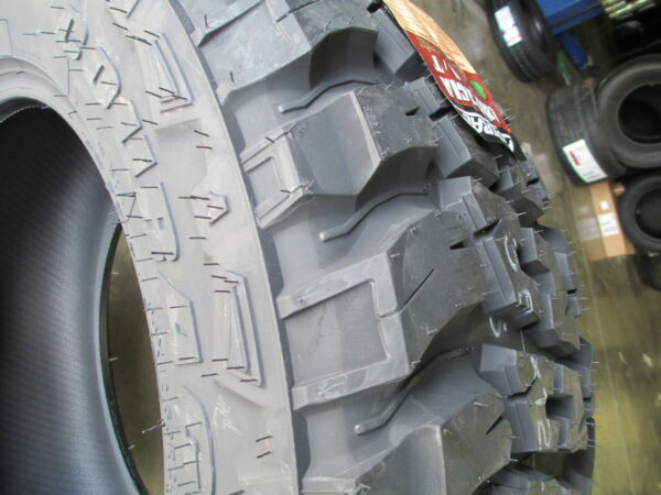 4 New 33X12.50R20 Federal Mud Tires 33125020 33 1250 20 12.50 R20 M T
