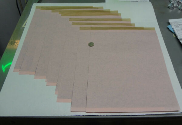 20 Sheets Black Carbon Paper 8 1 2quot; x 11quot; Tattoo Tracing Stenciling Office pink $6.45