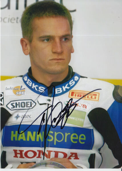 Tommy Hill Hannspree Honda Hand Signed 7x5 Photo 1.