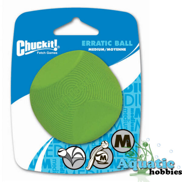 Chuckit! Erratic Ball Launcher Compatible Fetch Toy For Dog & Puppy CHOOSE SIZE $6.91