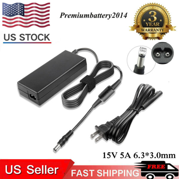 AC Adapter Charger for TOSHIBA SATELLITE M45 PA3469U-1ACA Power Supply Cord