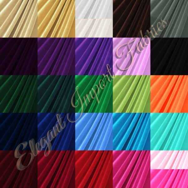 STRETCH VELVET FABRIC COSTUMES CRAFT APPAREL UPHOLSTERS 60