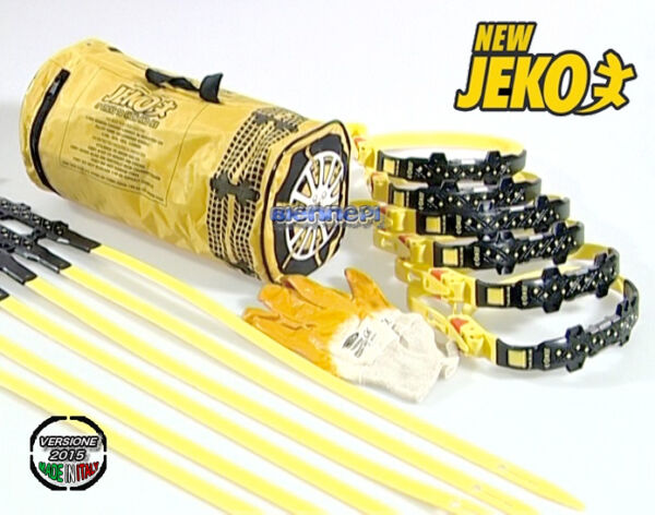 BANDS Chains NEW JEKO PUT & GO Device Non-slip Clamps Universal Snow