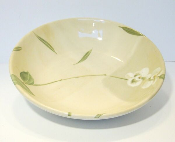 Crate & Barrel ORCHID China Round Vegetable Serving Bowl 10.5