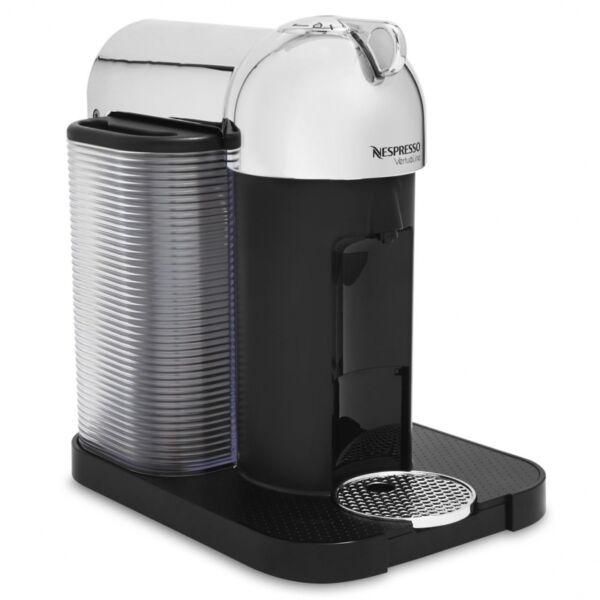 Nespresso VertuoLine Coffee Espresso Maker Pod Capsule Machine Chrome