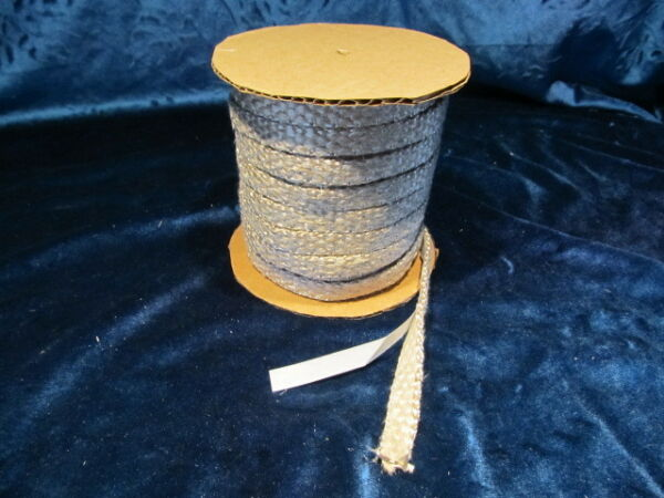 50 FEET STOVE GLASS SEAL TAPE FIRE ROPE  GASKET WOOD STOVE SELF STICK .
