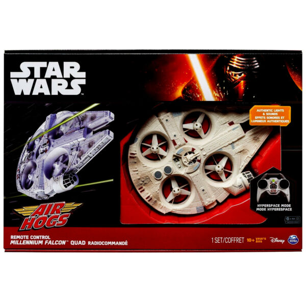 Remote Control Millennium Falcon Quad Copter With LED Lighting and Sounds