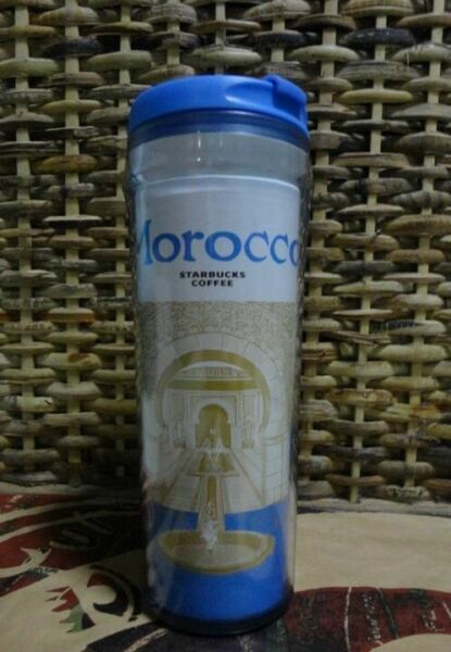 NEW Starbucks Coffee Icon City Tumbler MOROCCO Global never used - hard to find