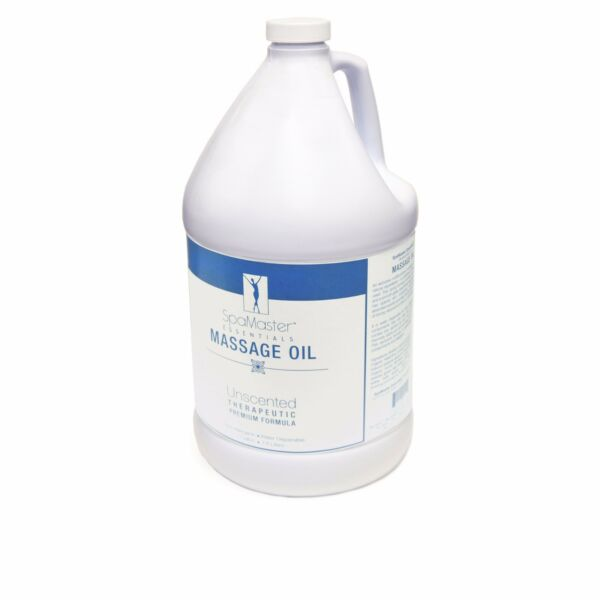 Master Massage 100% Natural Organic Unscented Water Soluble Oil 1 Gallon