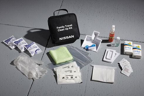 Genuine Nissan Car Sick Family Clean Up Kit NEW OEM 999M1-NX000