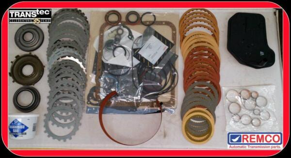 GM 4L60E REBUILD KIT TRANSMISSION WITH 3-4 RED CLUTHES POWER PACK   (1997-2003)