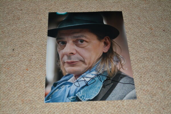 JEAN-DAMIEN BARBIN signed autograph 8x10 ( 20x25 cm ) In Person FRENCH ACTOR