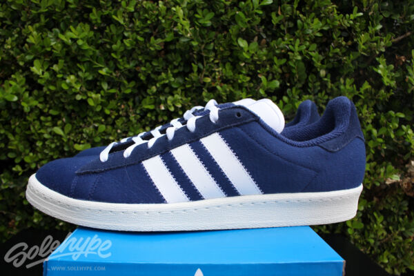 ADIDAS CAMPUS 80'S BW SZ 7 BEDWIN AND THE HEART BREAKERS BLUE WHITE S75674