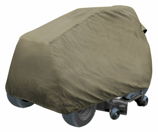 Outdoor All Weather Protected Garden Waterproof Deluxe Lawn Tractor Cover Tan