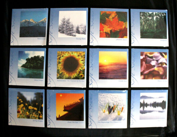 (12 CD Set) Yoga Deep Sleep Aid Meditation Relaxation Music CD Nature Soft Sound
