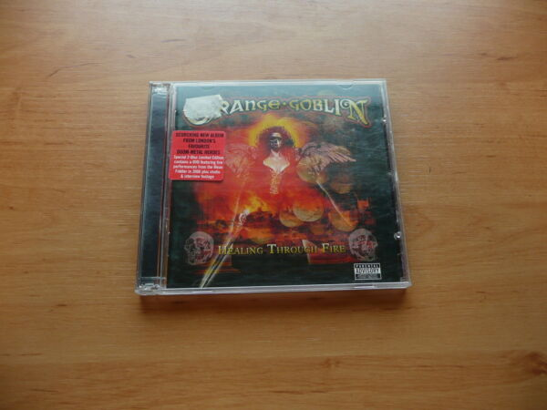 CD+DVD ORANGE GOBLIN - HEALING THROUGH FIRE  SANCTUARY RECORDS 2007 METAL UK