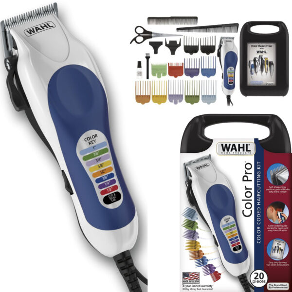 Electric Hair Trimmer Wahl Shaver Pro Cutter Clipper Men Beard Body Groomer Kit