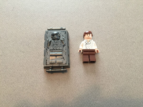 LEGO Star Wars Han Solo in Carbonite minifigure 8097 minifig $21.95