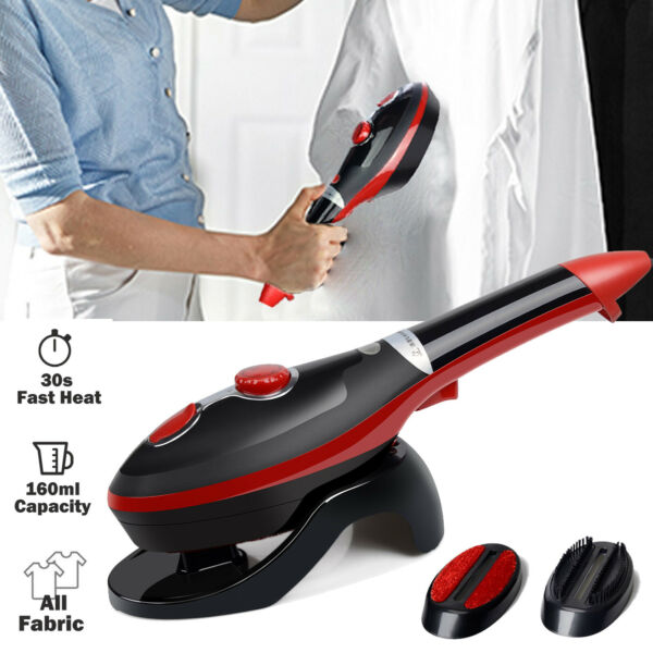 Portable Steamer Fabric Clothes Garment Steam Iron Handheld Compact Fast Heat up