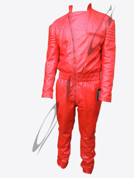 NEW BESPOKE 100% MENS GENUINE LEATHER NUMAN BOILER SUIT CATSUIT BODYSUIT OVERALL