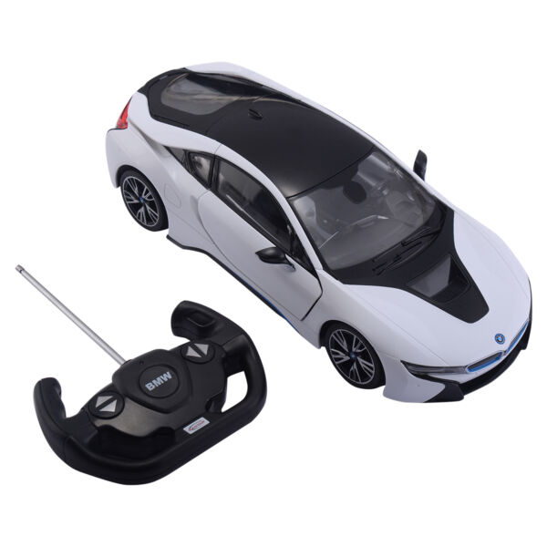 1:14 BMW I8 Licensed Remote Control RC Car Opening Vertical Door Christmas Gift