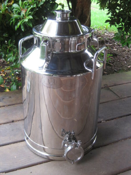 8 Gallon Stainless Steel Moonshine Whiskey Still Boiler kettle $249.99