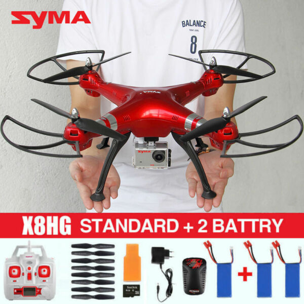 Syma X8HG 2.4G RC Quadcopter 8MP HD Camera X8HW Wifi Drone Hovering RTF US STOCK