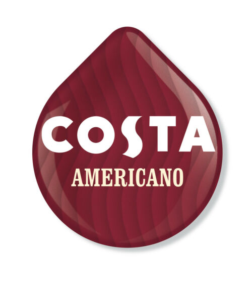 24 x Tassimo Costa Americano Coffee T-disc (Sold Loose)